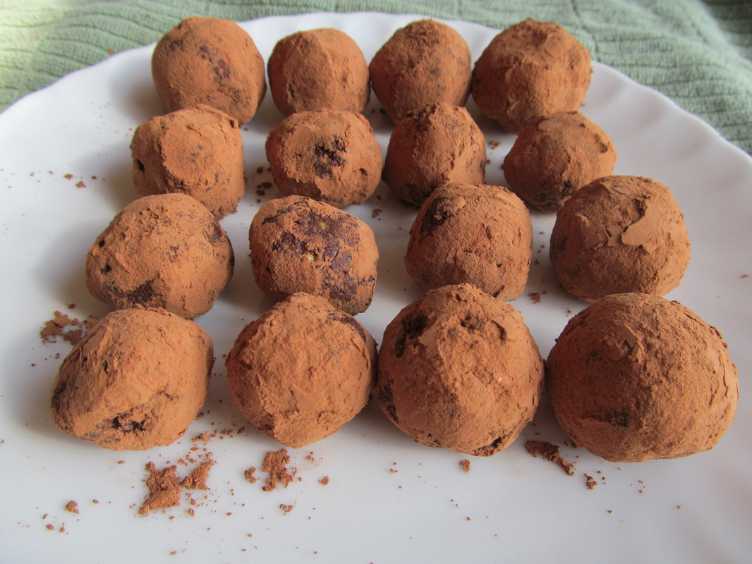 dark chocolate avocado truffles recipe healthy cocoa powder